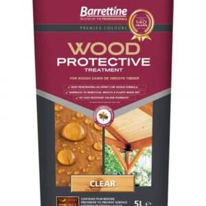 Barrettine Wood protective treatment purple tin
