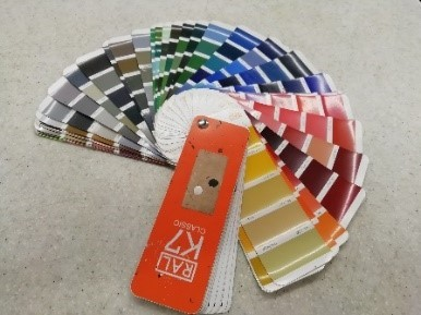 RAL Classics colour chart colours available for carbochlor chlorinated rubber paint