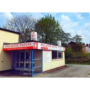 Palatine Paint Front of Business Shop Entrance