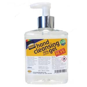 Hand sanitising Gel 250ml pump