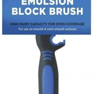 EMULSION BLOCK BRUSH